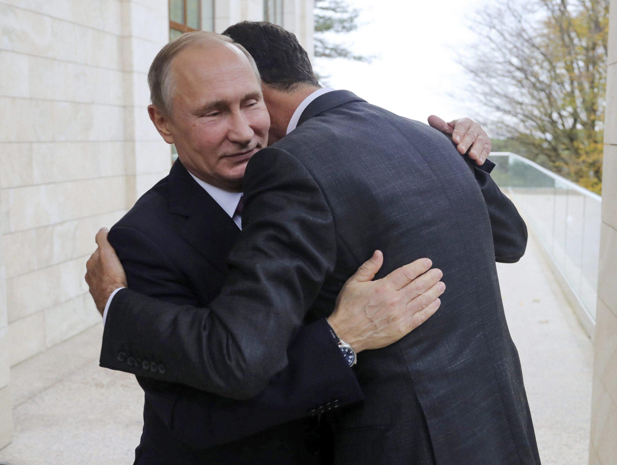 صورة انتهى الغزل.. الأسد يعلن الحرب على بوتين