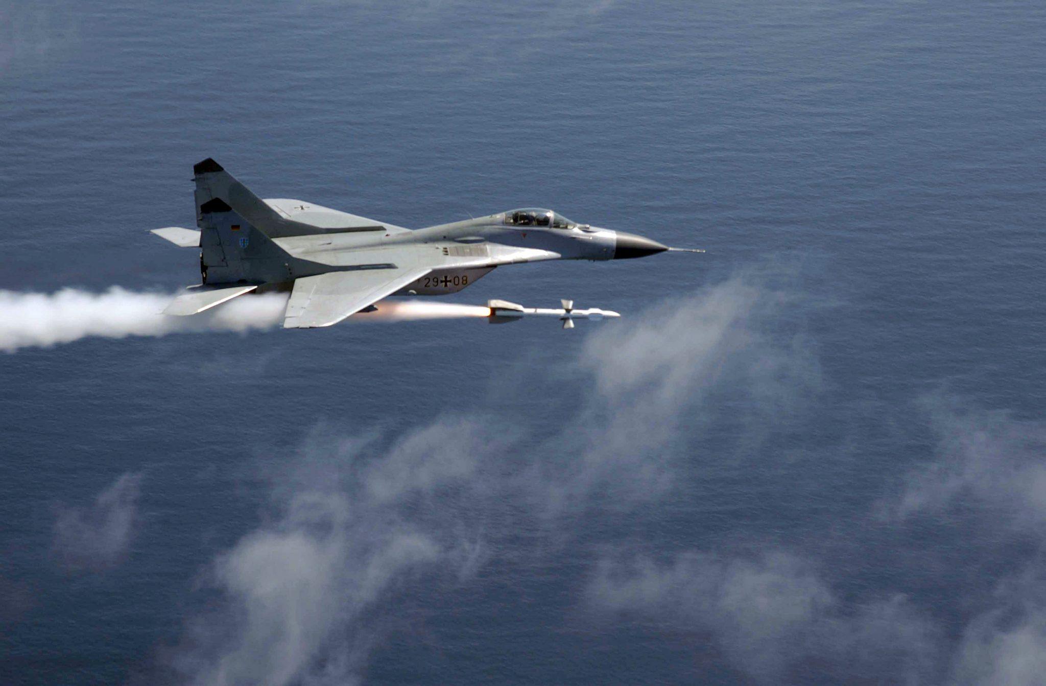 صورة ليبيا: طائرات ميغ 29 تهاجم البحرية التركية- بوادر حرب طاحنة