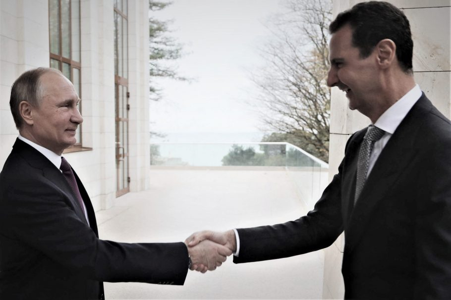 """صورة خالد العبود: الأسد يستطيع شطب """"بوتين"""" من التاريخ الروسي"""