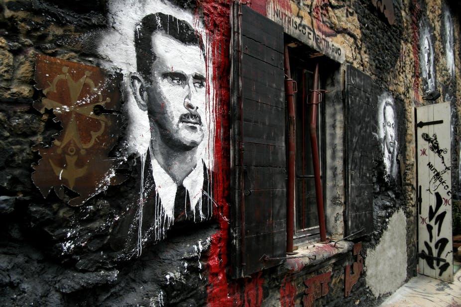 صورة لماذا لم يسقط النظام السوري للآن؟