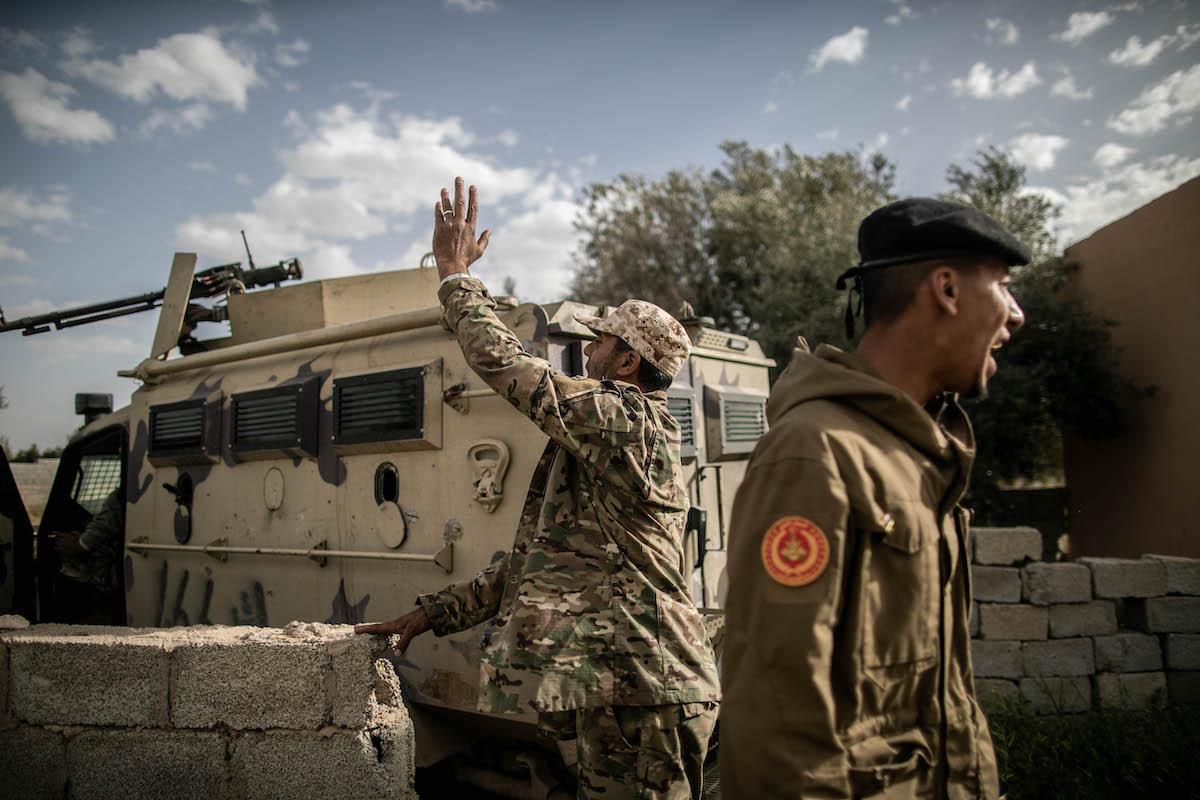 صورة الجيش التركي مع الوفاق يتجهزان لاستعادة النفط الليبي- خريطة