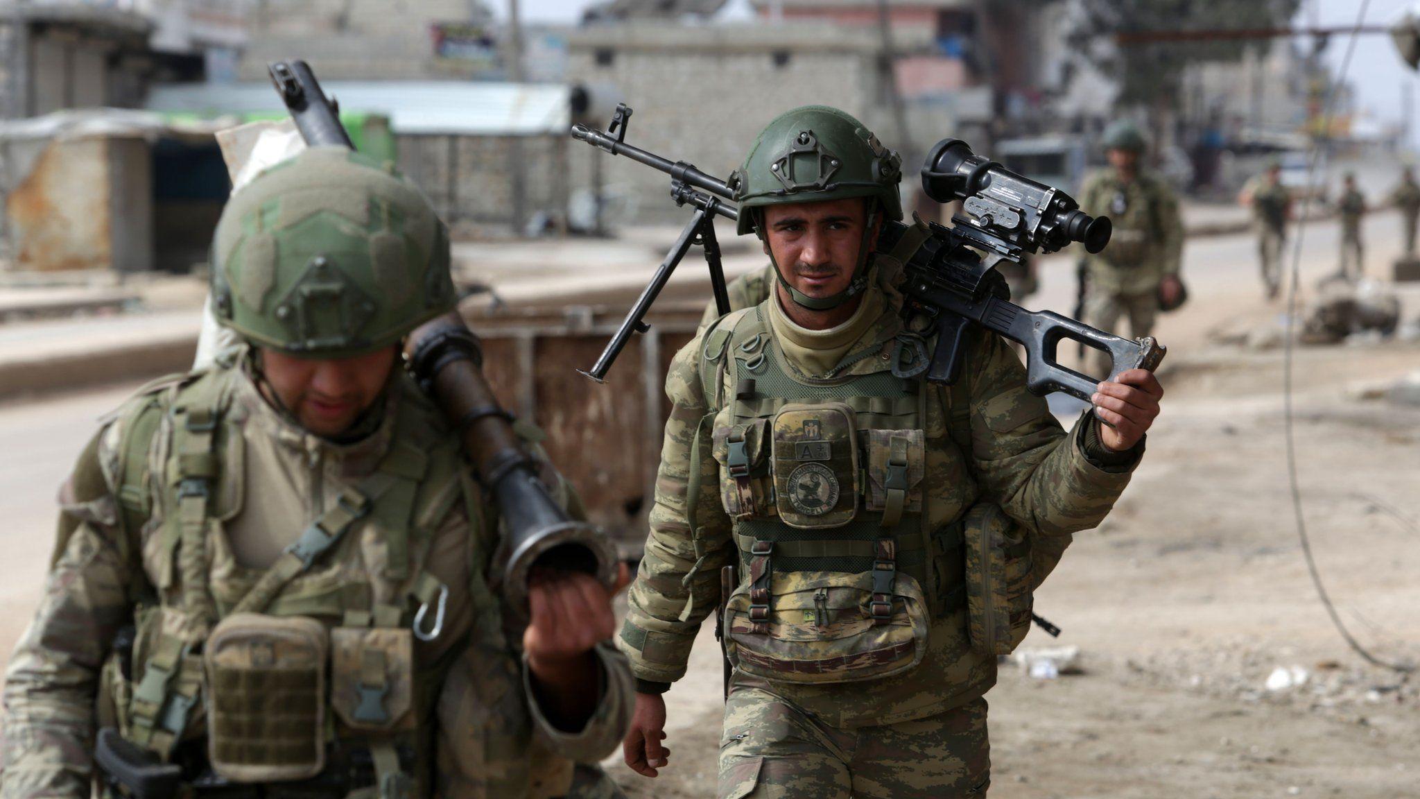 صورة تركيا: سنقطع يد الأسد لو فكر بمدها على إدلب