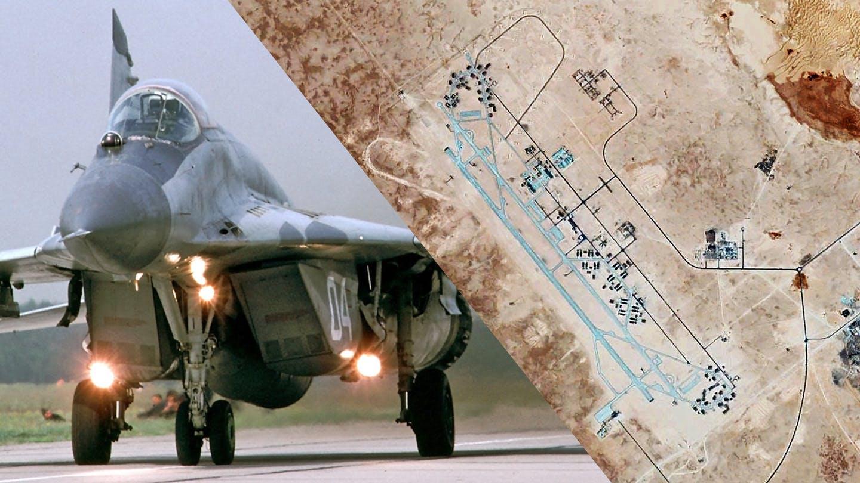 صورة روسيا تحشد في قاعدة الجفرة الليبية- شاهد