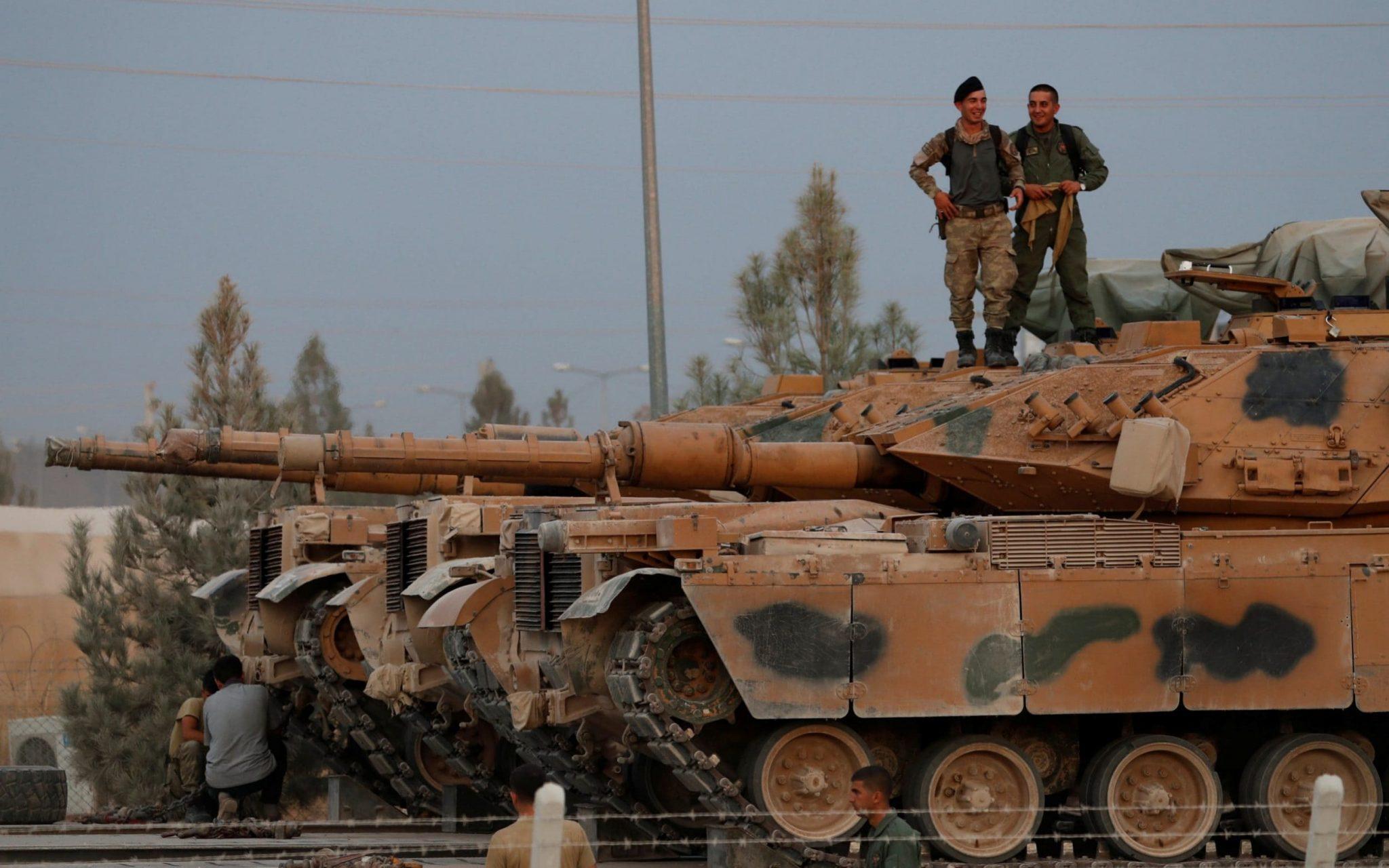 صورة طلائع الجيش التركي تصل أذربيجان- فيديو