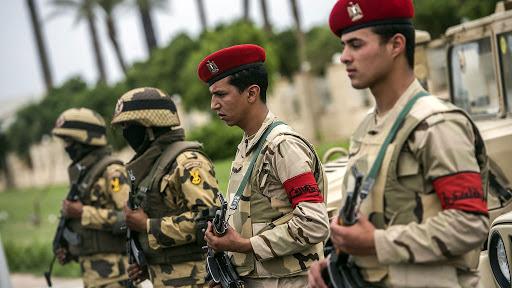 صورة حسم 2020.. أول تحرك عسكري مصري على الحدود الليبية