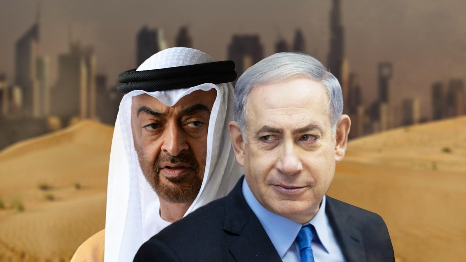 صورة إعلان رسمي.. بن زايد قريبًا في تل أبيب