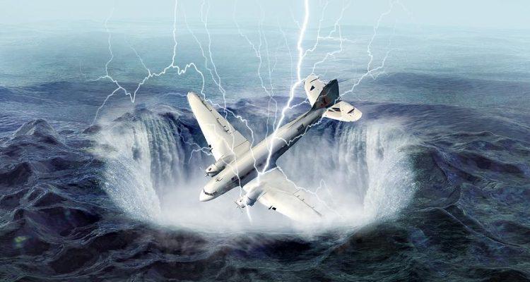 """صورة مساحته 77 ألف كيلو متر.. اكتشاف """"مثلث جديد"""" ابتلع 2000 طائرة!"""