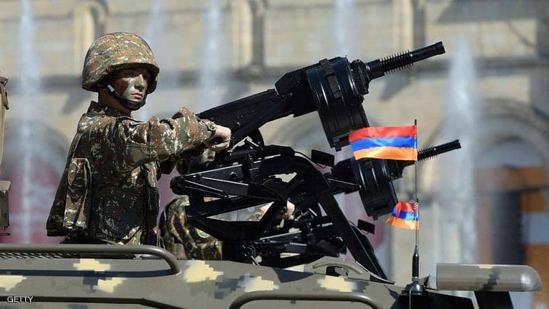 صورة أسـ.ـلحة إسـ.ـرائيلية فعالة تضمن التـ.ـفوق العـ.ـسكري لأذربيجان