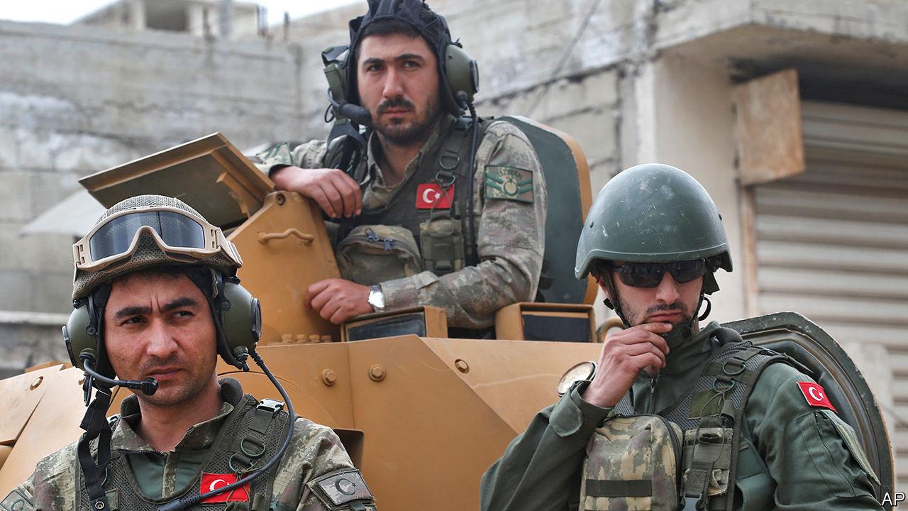 صورة الجيش التركي على أهبة الاستعداد للتوجه إلى أذربيجان