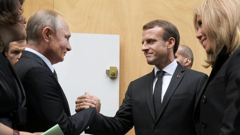 صورة هل اتحدت فرنسا وروسيا ضد تركيا؟.. تصريحات لافتة للرئيس التركي