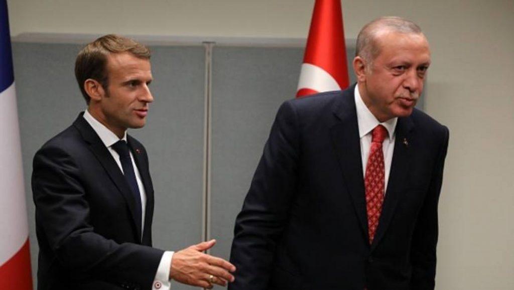صورة أردوغان لماكرون: نهايتك ليست بعيدة