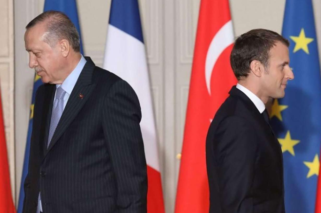 صورة احتدام على أعلى المستويات للخلافات الفرنسية- التركية