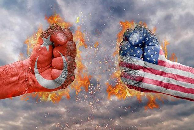 صورة أقوى دولة في العالم: عاجزون أمام تركيا!