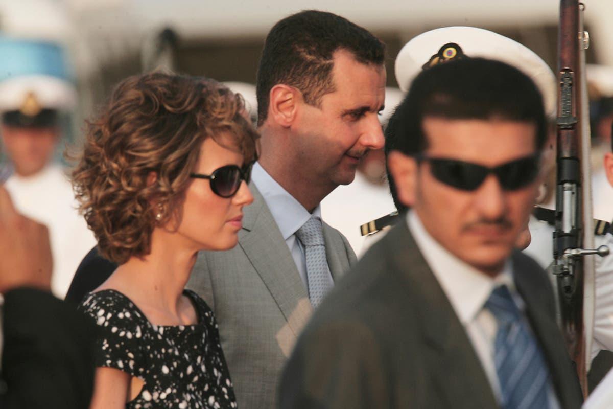 صورة اتفاق سري بين اسماء الأخرس والأسد