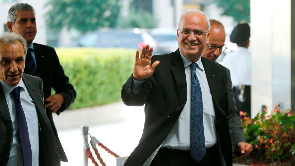 """صورة وفاة كبير المفاوضين الفلسطينيين """"صائب عريقات"""""""