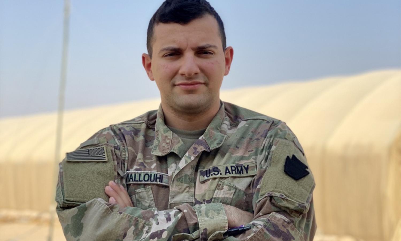 صورة فادي.. سوري الجنسية وجندي بالجيش الأمريكي يخدم في سوريا.. من والده؟