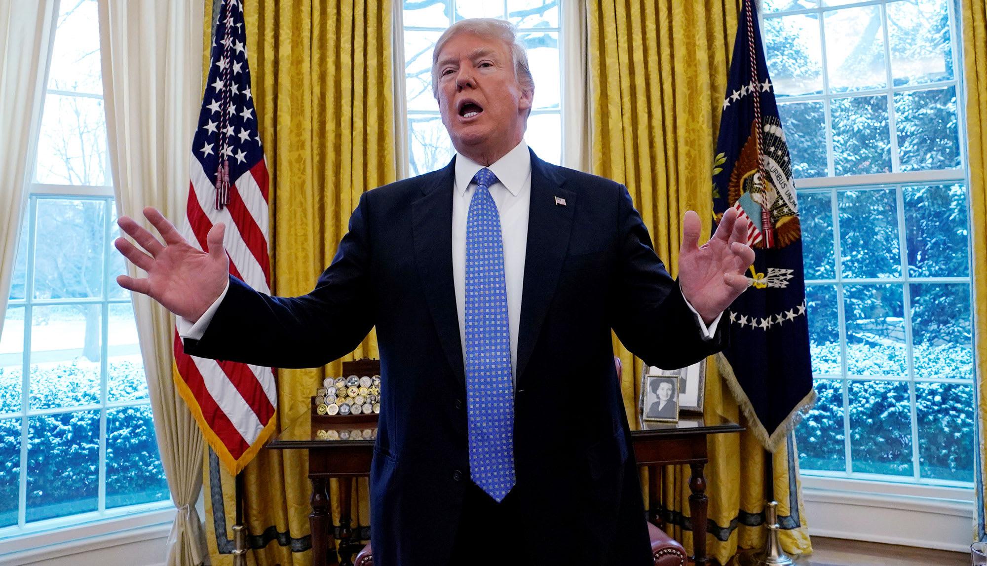 """صورة ترامب: لن أسمح لـ""""بايدن"""" بدخول البيت الأبيض إلا بشرط واحد..ما هو؟"""