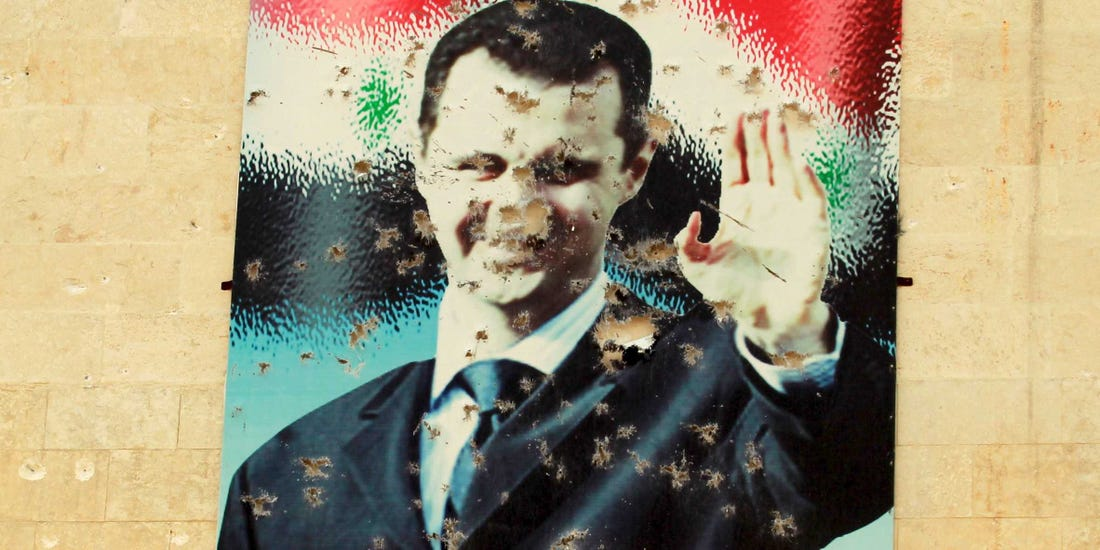 صورة ماذا يجري في قصر بشار الأسد؟
