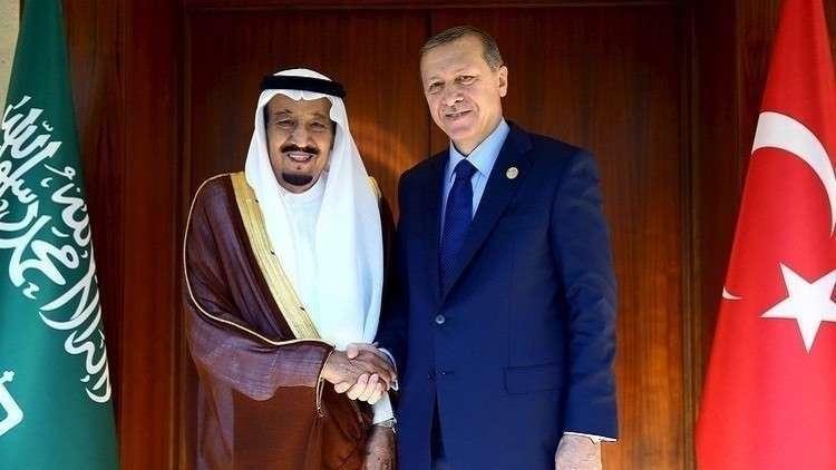 صورة تفاصيل الاتصال الهاتفي بين الملك سلمان والرئيس التركي