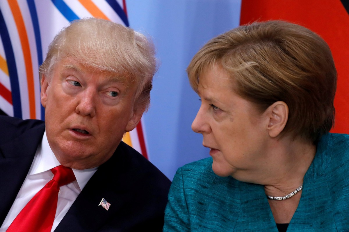 """صورة أمريكا تهـ.ـدد ألمانيا بـ """"العـ.ـقوبات"""".. وبرلين: هذا أسلوب """"المـ.ـافيا"""""""