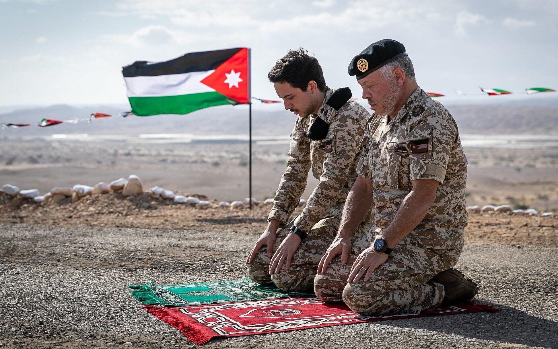 """صورة """"لغز"""" الفيديو الذي """"أغضب"""" ملك الأردن"""