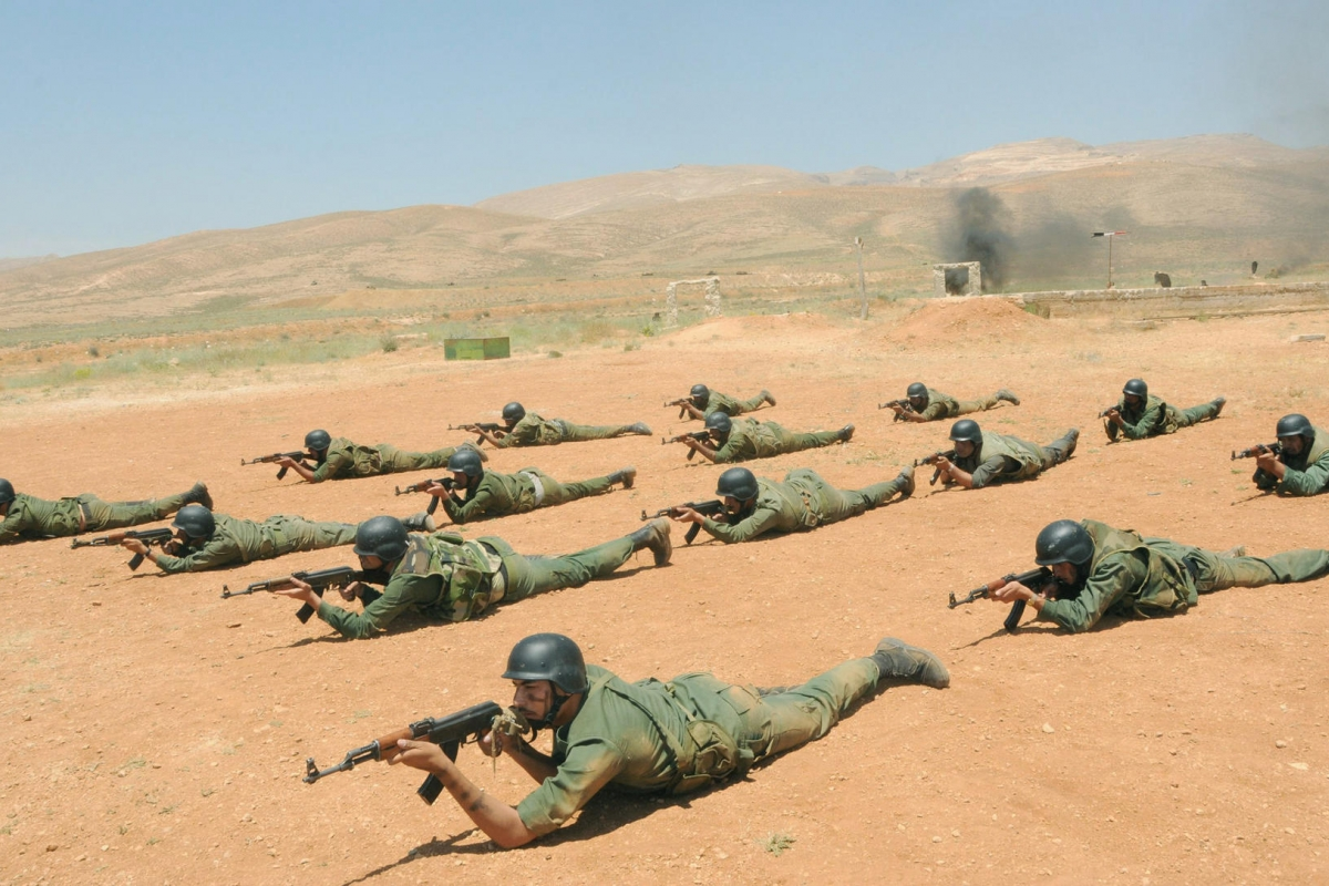 صورة جيش عربي مخـ.ـضرم بمزايا عسـ.ـكرية عالمية- فيديو