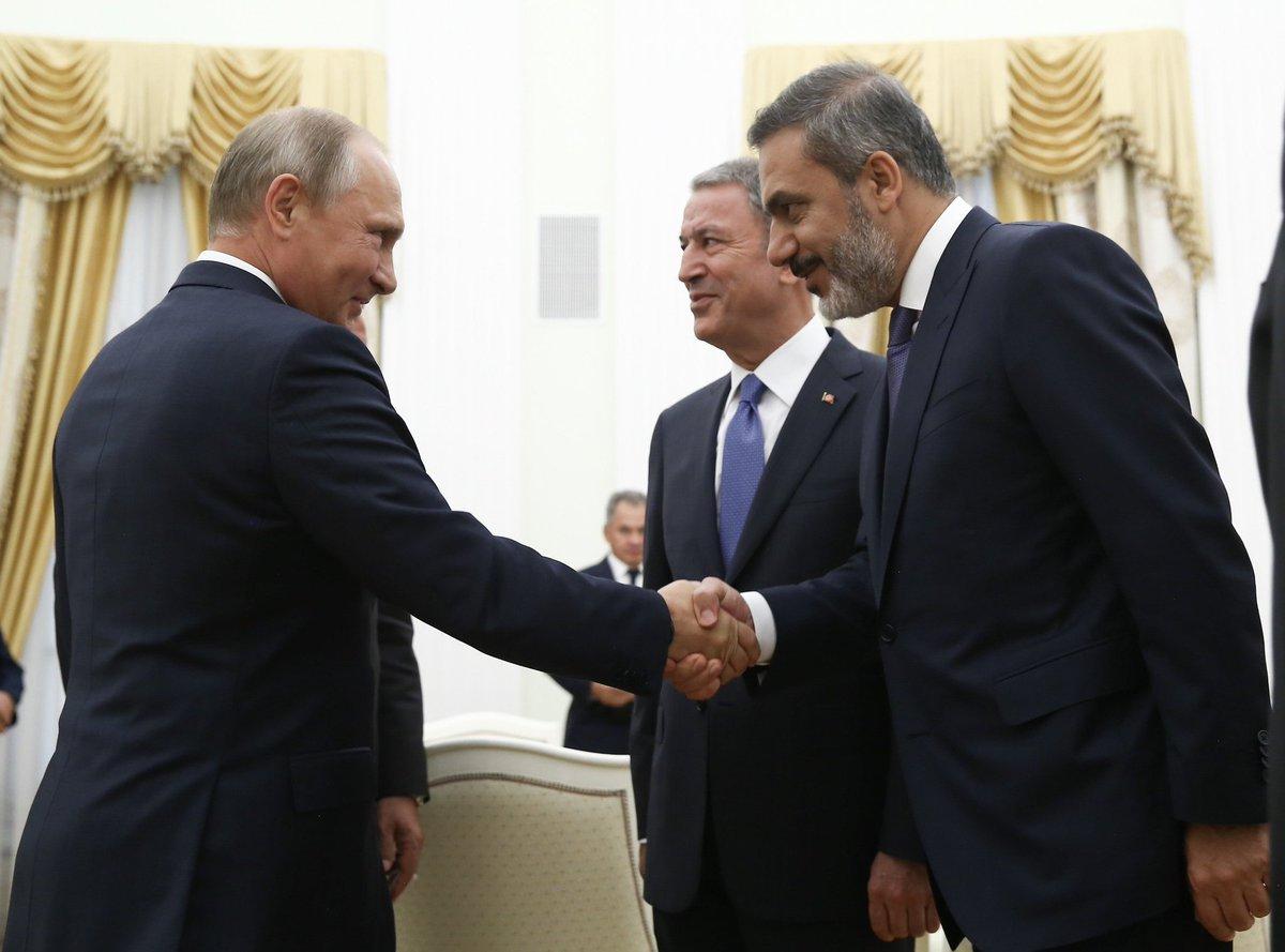 صورة هل زار نائب الأسد أنقرة قبل أيام- تفاصيل
