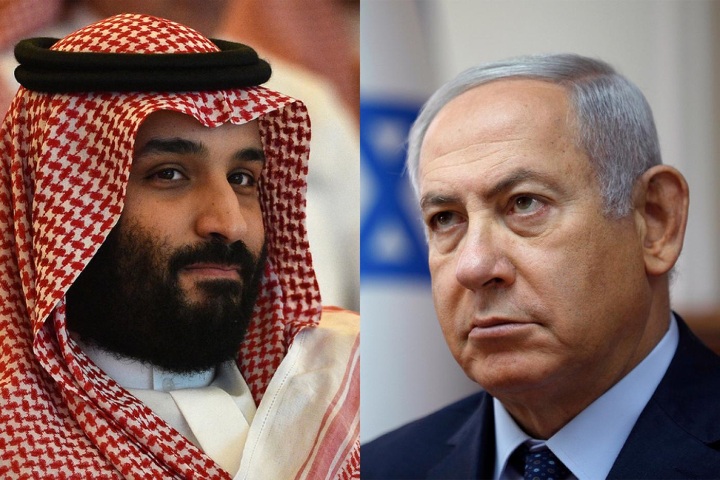 صورة بن سلمان أدخل نتنياهو للسعودية دون علم الملك..مصدر كبير يكشف المستور