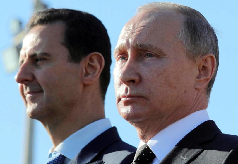 صورة وثيقة سـ.ـرية.. بوتين يكتب نهـ.ـاية بشار الأسد