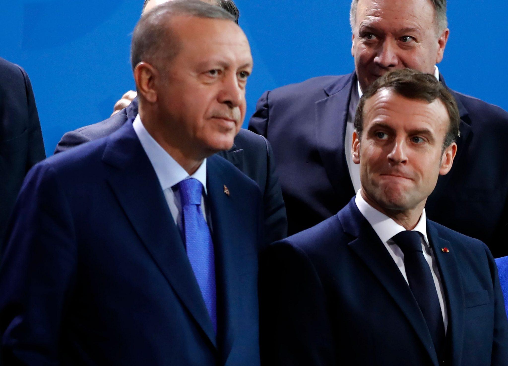 صورة أردوغان: أتمنى أن تتخلص فرنسا من ماكرون بأسرع وقت