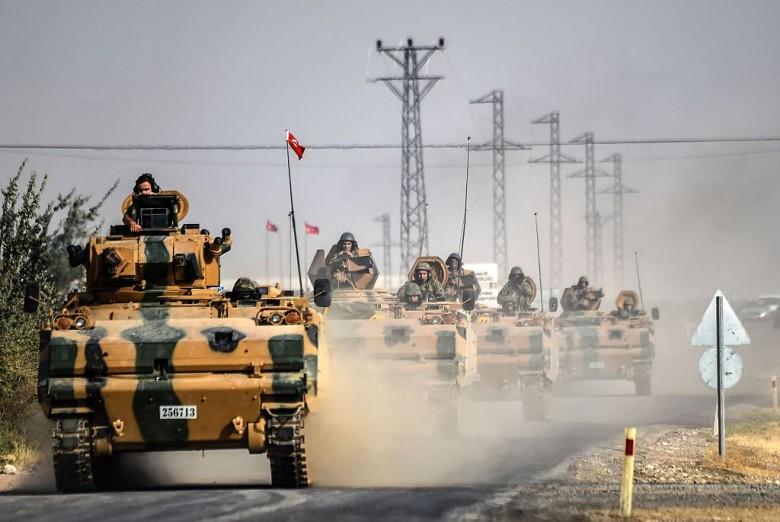 صورة تكتيك وسيناريو جديد للجيش التركي في سوريا