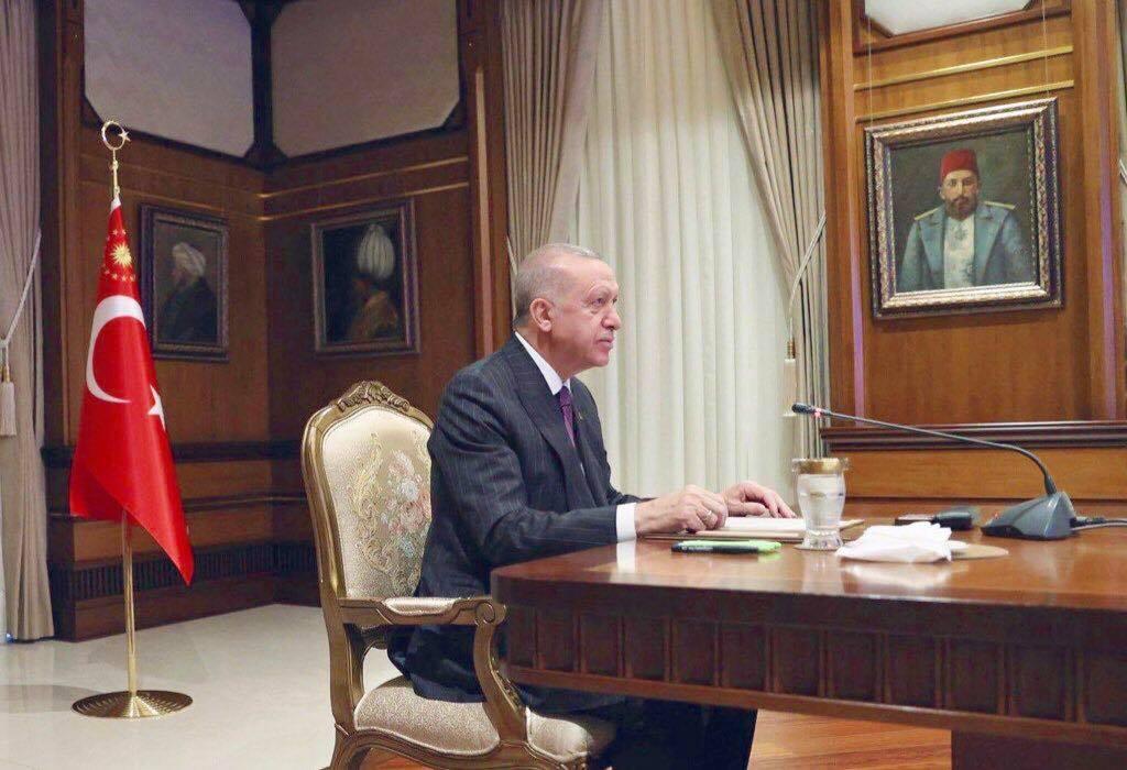 صورة سيغير وجه العالم ويعيد قوتها العظمى: بعد 100 عام.. أردوغان يكمل مسيرة السلطان عبد الحميد