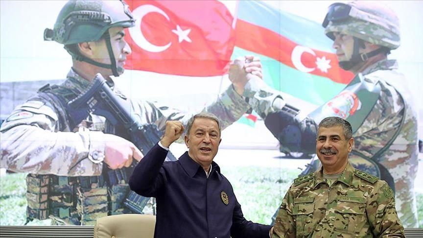 صورة رسالة تحذيرية نارية من أردوغان لأرمينيا وتحرك كبير لوزير الدفاع التركي