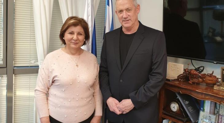 صورة للمرة الأولى في التاريخ.. سيدة عربية تترشح لرئاسة إسرائيل