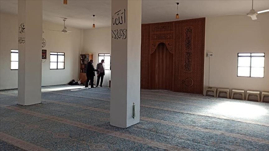 صورة تركيا تفتتح مسجداً في تلك المنطقة..اليكم التفاصيل