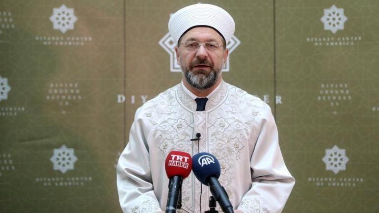 صورة بهدف خدمة السوريين.. تصريح عاجل وهام من رئيس الشؤون الدينية التركية  .. اليكم التفاصيل