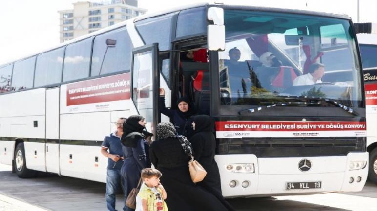 صورة عودة 800 ألف سوري .. تصريحات تركية رسمية .. اليكم التفاصيل