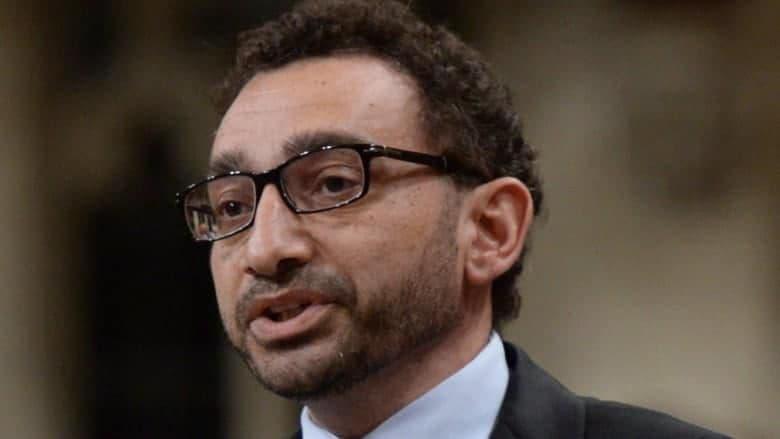 صورة أول سوري بمنصب وزير في كندا