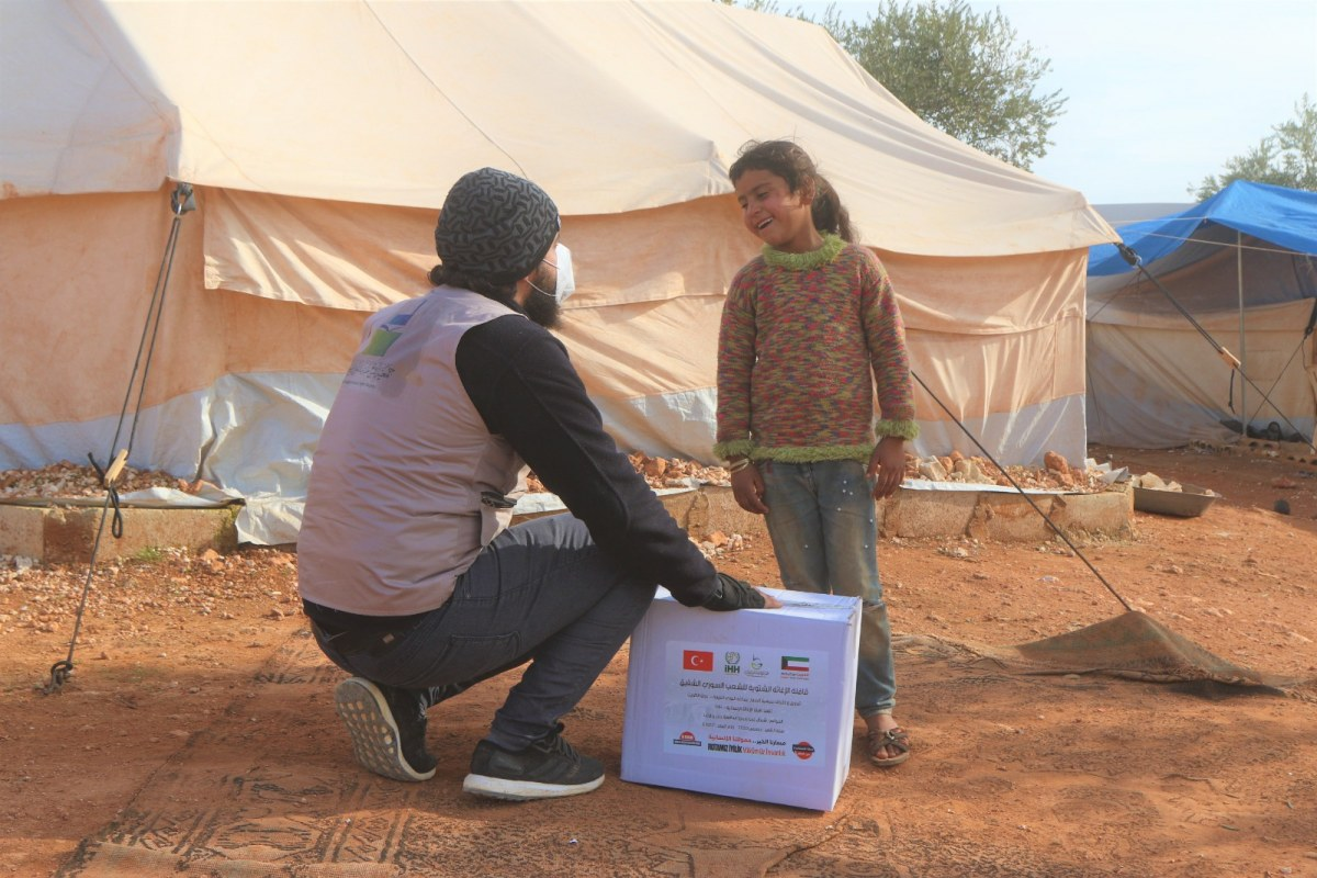 صورة الخبر السار..26 طنا من المساعدات التركية ستوزع على السوريين