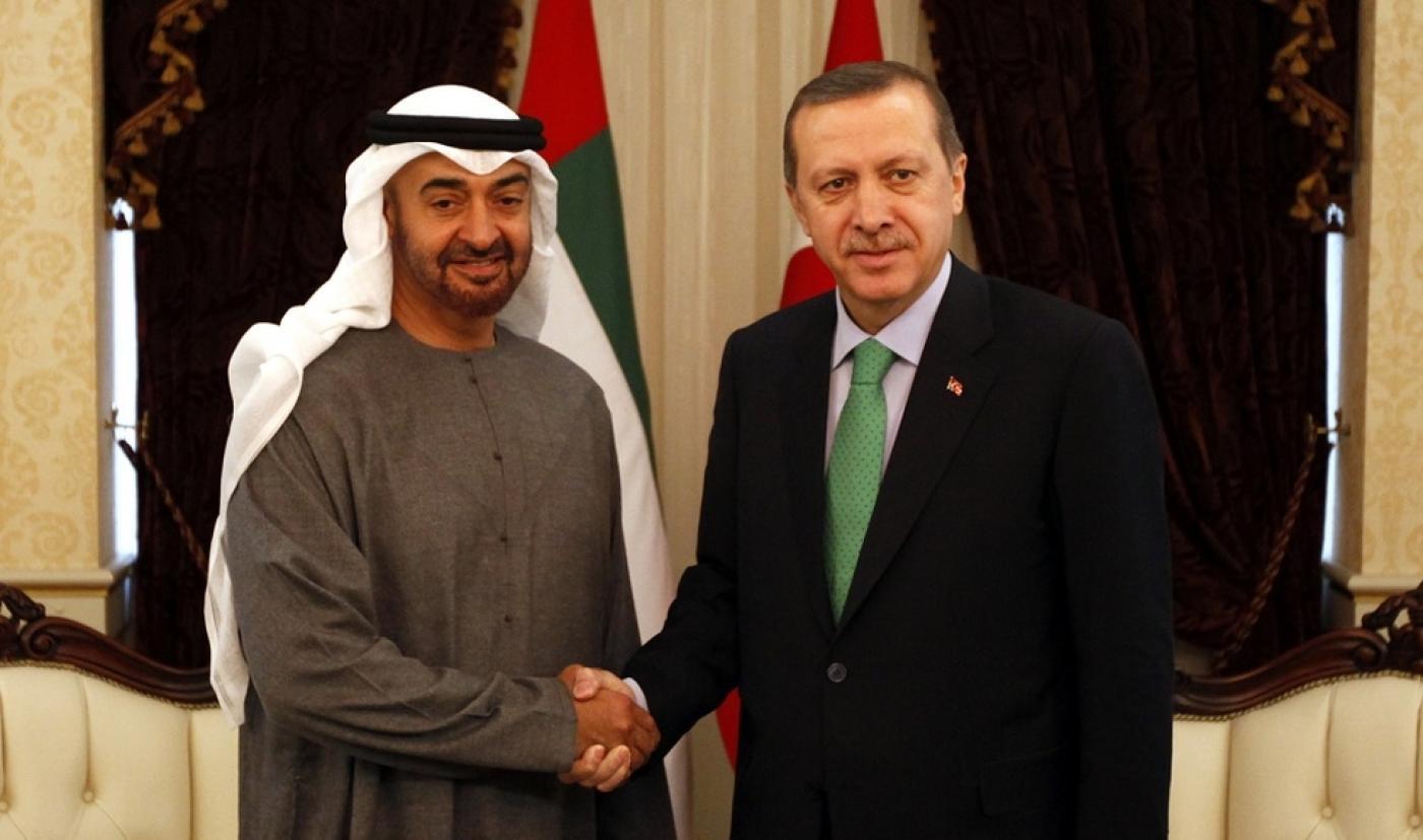 صورة بوادر تحالف إماراتي- تركي.. وأبو ظبي تطلق تصريحات تصالحية وهذا ما تنشده