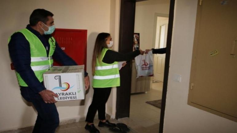 صورة ولاية تركية تقدم مساعدات غذائية للسوريين