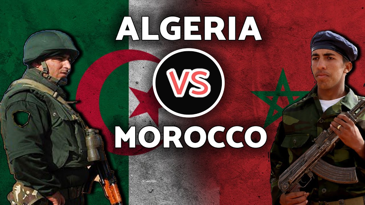 صورة مقارنة بين الجيشين الجزائري والمغربي