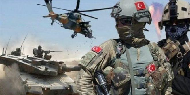 صورة قصـ.ف عنـ.يف تشـ.نه القـ.وات التركية على مـ.واقع لقـ.وات الأسد