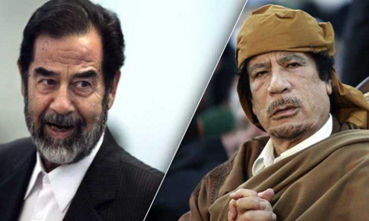 صورة العداء التاريخي بين الزعماء العرب والمياه الغازية.. حرّمها صدّام واكتشف القذّافي أصولها!