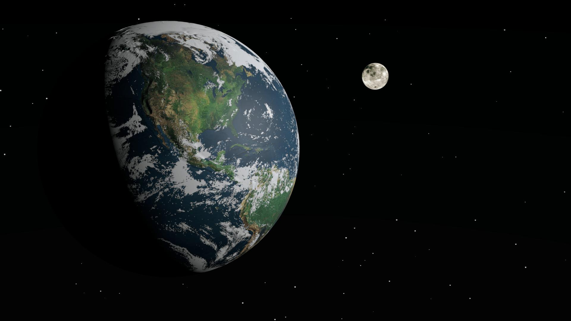 """صورة إلى الأبد..الأرض على وشك أن تفقد """"قمرها الثاني""""- فيديو"""