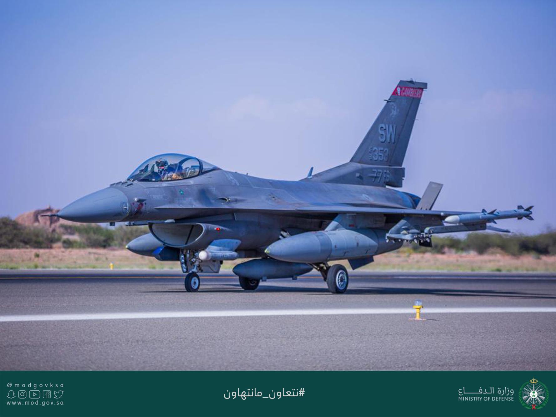 صورة تنين عسكري أمريكي- سعودي مشترك- فيديو وصور