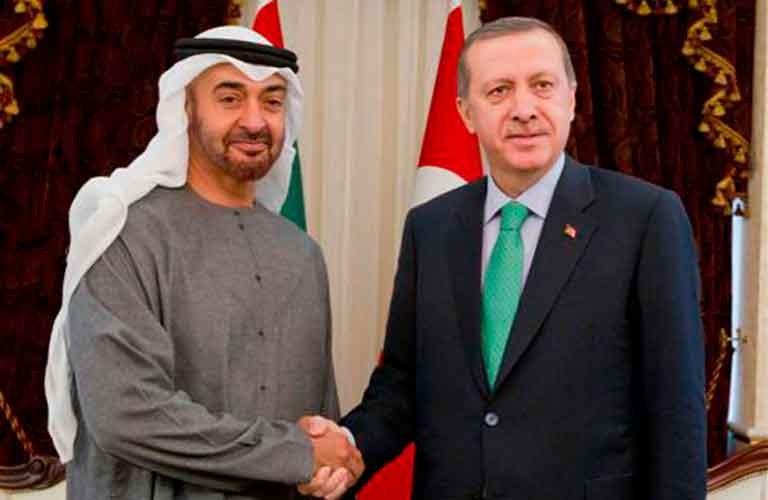 صورة مبادرة ودية تركية تجاه الإمارات- إليكم مضمونها