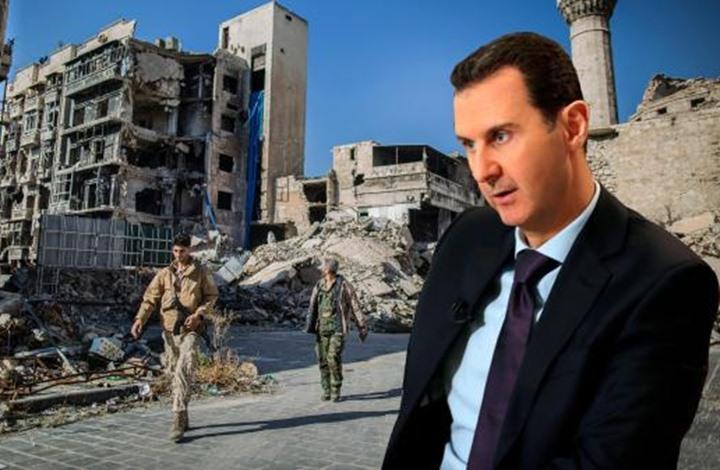 """صورة بدأت الحـ.ـرب الأوروبية ضـ.ـد الأسد: """"ملك الخـ.ـراب"""""""