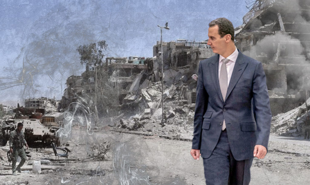صورة الأسد: سأبقى على رأس السلطة حتى لو تدمرت كل سوريا- تفاصيل مسربة