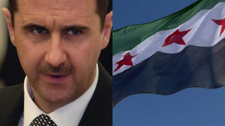 صورة تشكيل عسكري جديد يتقدم ويوجـ.ـع الأسد في مدينة حلب